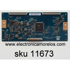 T-CON / VIZIO 55.55T32.C12 / 5555T32C12 / T550QVR07.1 CTRL BD / 55T34-C03 / MODELO E55U-D0 LAUATYDS / PANEL T550QVN05.0