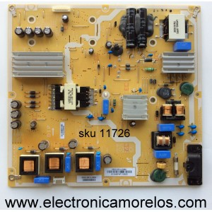 FUENTE DE PODER / SHARP 0500-0614-0880 / 9LE50006140880 / PSLF141401MA / UHD43 / MODELO LC-43UB30U / PANEL T430QVN01.0
