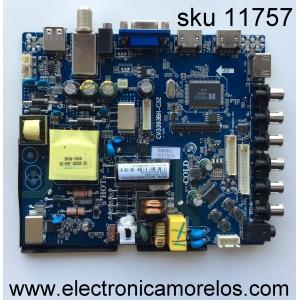 FUENTE / MAIN / (COMBO) / PROSCAN 67H120 / CV3393BH-C32 / MODELO PLDEDV3283-B / PANEL HV320WHB-N10