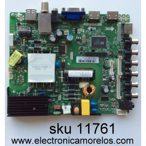 MAIN / FUENTE /(COMBO) / PROSCAN B16075392 / TP.MS3393.PB855 / MODELO PLDEDV4018 / PANEL V400HJ6-PE1 REV.C2