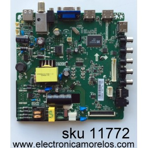 MAIN / FUENTE / (COMBO) / ELEMEN H16081271 / TP.MS3393T.PB758 / MODELO ELEFW328 LE-32GJL4-B3 / PANEL BOEI320WX1-01