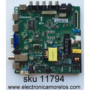 MAIN / FUENTE / (COMBO) H16071106 / TP.MS3393T.PB758 / MODELO ELEFW328 LE-32GJL4-B3/ PANEL BOEI320WX1-01