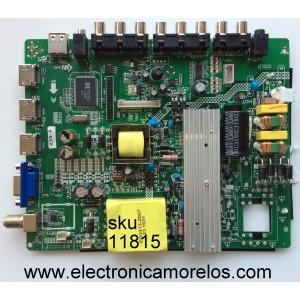 MAIN / FUENTE / RCA 3393C1610 / ZP.VST.3393.C / MODELO RLDED5078A-E / PANEL V500HJ1-PE8 REV.C7