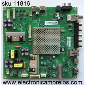 MAIN / VIZIO GXFCB02K0410 / 715G7484-M01-001-004Y / MODELO E50-C1 LTCWSKER / PANEL TPT500J1-HVN08.A REV:S800A