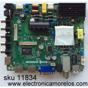 MAIN / FUENTE / (COMBO) ELEMENT K16078526 / SY16200-2 / TP.MS3393.PB801 / MODELO ELEFW5016 / PANEL V500HJ1-PE8