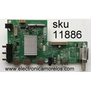MAIN / HITACHI 1010106264 / MS34580-ZC01-01 / MODELO 48HK6T64U / PANEL LSC480FN02-R