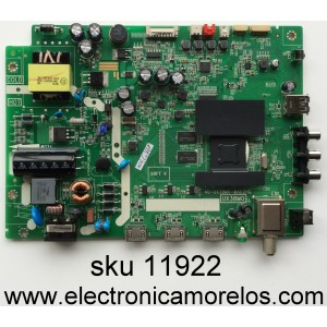 MAIN / FUENTE (COMBO) TCL T8-28NAZP-MA1 / GTC000415A / V8-UX38001-LF1V025 / 40-UX38M0-MAD2HG / MODELO 28S3750 / PANEL LVW280CS0T