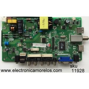 MAIN / FUENTE / (COMBO) K16089071 / TP.MS3393.PA506 / MODELO E19 BZQV93JB / PANEL MV185WHB-N10