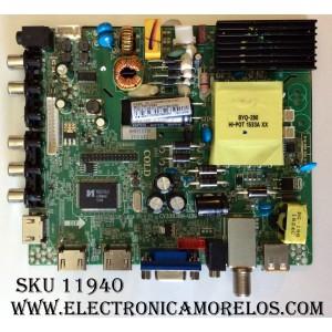 MAIN / FUENTE / (COMBO) / PROSCAN 66H1179 / CV3393BH-U39 / MODELO PLDED4017 / PANEL LSC400HN02-803