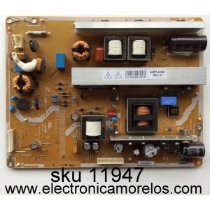 FUENTE DE PODER / RCA LJ44-00229E / PSPF251502B / SDI_43EH / MODELO DPTC430M / PANEL S43AX-YD01 / S43AX-YB01
