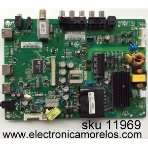 MAIN / FUENTE (COMBO) / INSIGNIA B13127192 / TP.MS3393.P70 / 5539S051E / MODELO NS-39D310NA15 / PANEL T390XVN01