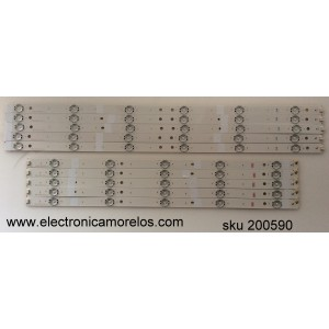KIT DE LED PARA TV / SONY S600FXB-1 / S600FXB-1 76040YA00-600-G-M 1444 / SUG600A13_REV06_L-TYPE_140513 / MODELO KDL-60RS10A