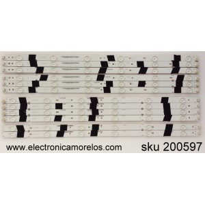 KIT DE LED PARA TV / SHARP T550QVN03.2XL / F110M9LP39F / 0981010221C / MODELO LC-55UB30U