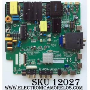 MAIN / FUENTE (COMBO) / SCEPTRE A16089824 / TP.MS3458.PC758 / MODELO U55 B2IV58CE / PANEL CN55XB8B00