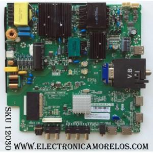 MAIN / FUENTE / (COMBO) / SCEPTRE A16100545 / TP.MS3458.PC758 / MODELO U55 SIIV58CD / PANEL LSC550FN17
