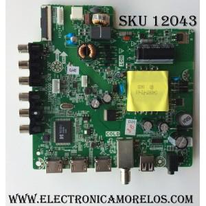 MAIN /  (COMBO)  HITACHI 999S6H / JUC7.820.00164001 / MODELO 40A3 / PANEL LSC400HN02-801