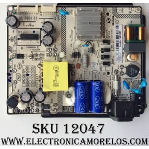 FUENTE DE PODER / TCL 81-PBE040-H91 / SHG4202A-101H / 12001080504 / HSG4202A04-101H / MODELOS 40FS3750 40FS3750TFAA / 43S303