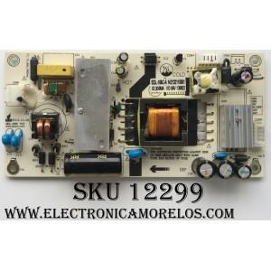 FUENTE DE PODER / SCEPTRE SDL-105C-A / 142132110001 / MODELO E248BV-FMQ / PANEL MV238FHB-N10