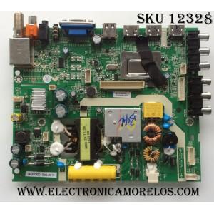 MAIN / FUENTE (COMBO) / JVC / HAIER 1010035792 / PANEL LQ315T3HC34 / MODELO LT-32EM75