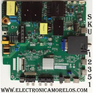 FUENTE / MAIN / (COMBO) / SCEPTRE A16089743 / TP.MS3458.PC758 / MODELO U55 / PANEL HV550QUB-N80