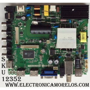 MAIN / FUENTE / ELEMENT K16060372 / 890-M00-06NC6 / SY16200 / TP.MS3393.PB801 / MODELO ELEFW5016 / PANEL V500HJ1-PE8 REV.C7