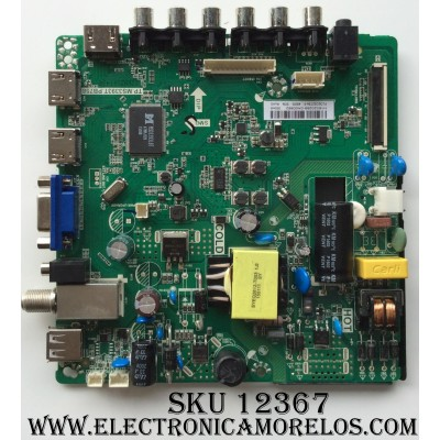 MAIN / FUENTE / (COMBO) PROSCAN H16020266 / TP.MS3393T.PB758 / MODELO PLDED3280A-B / PANEL PLDED3273A-F