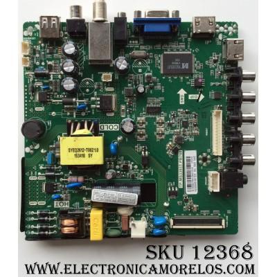 "MAIN / FUENTE / (COMBO) PROSCAN B15082784 / TP.MS3393T.PB708 / MODELO 32"" / PANEL HV320WHB-N81"
