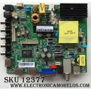 MAIN / FUENTE / (COMBO) ELEMENT 34016221 / CV3393BH-U39 / MODELO ELEFW4016 LE-40GDXB-B3