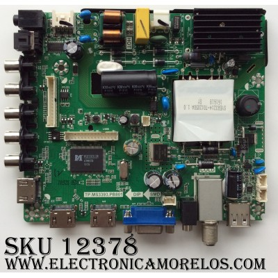 MAIN / FUENTE / (COMBO) K16050153 / 20160426 / SY16198 / TP.MS3393.PB801 / MODELO ELEFW3916 / PANEL T390XVN01.0