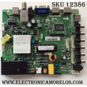 MAIN / FUENTE (COMBO) / PROSCAN B16075395 / TP.MS3393.PB855 / MODELO PLDEDV4018 / PANEL V400HJ6-PE1