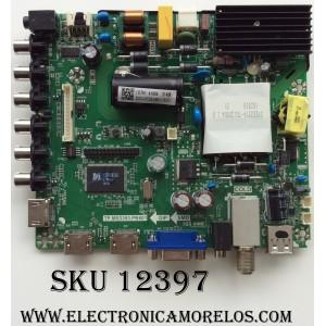 MAIN / FUENTE / (COMBO) / QUASAR 50043393B01300 / TP.MS3393.PB801 / MODELO SQ5003 / PANEL V500HJ1-PE8 REV.C7