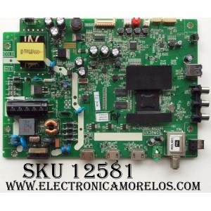 MAIN / FUENTE / TCL GTC000148A / V8-UX38001-LF1V025(L3) / 40-UX38M0-MAD2HG / MODELO 32S3750