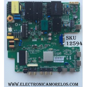 MAIN / FUENTE (COMBO) / SCEPTRE A16110631 / TP.MS3458.PC758 / PANEL V500DJ5-QS1 / MODELO U50 CZIV