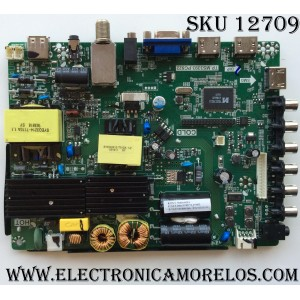 MAIN / FUENTE / RCA H16092140 / TP.MS3393.PC822 / MODELO LED42C45RQ / PANEL V420DK1-QS1-12V