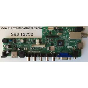 MAIN / ELEMENT 34012886 / B14110285 / T.MS3393A.E67 / MODELO ELEFW247 / PANEL  MV238FHB-N10  40W19  ROHS