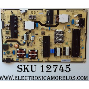 FUENTE DE PODER / SAMSUNG BN44-00818A / BN4400818A / L65SM9NA_FSM / PSLF321P07A / MODELO UN65KU650DFXZA FA01 / PANEL CY-YJ065FLLV1H