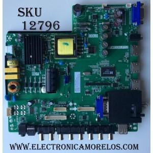 MAIN / FUENTE / (COMBO) / SCEPTRE H15040966 / TP.MS3393.P712 / MODEL E32 E325GD-MQR8BC / PANEL HV320WX2-267