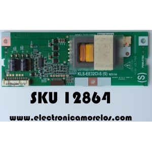 BACKLIGHT INVERSOR / PHILIPS 6632L-0212B / KLS-EE32CI-S (SL) / KLS-EE32CI-S (S) / MODELO 32PF7320A/37 / PANEL LC320W01(SL)(01)