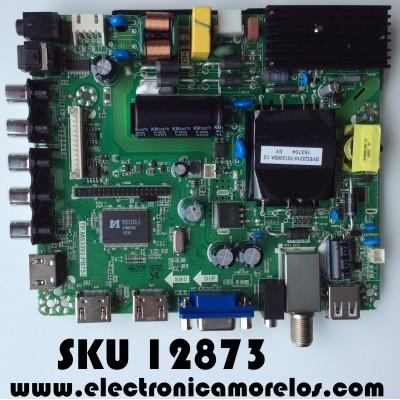 MAIN / FUENTE (COMBO) / RCA K16109797 / AE0010746 / TP.MS3393.PB751 / PANEL JE400D3HC2N-12V / MODELO RLDED4016A-H