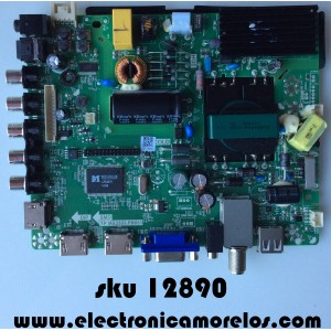 MAIN / FUENTE / (COMBO) / ELEMENT 34012409 / TP.MS3393.PB851 / MODELO ELEFW408