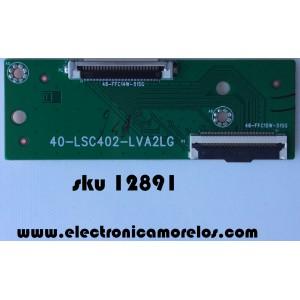 T-CON / TCL 40-LSC402-LVA2LG / 46-FFC15W-51SG / MODELO 40FS3800