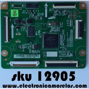 MAIN LOGICA / SAMSUNG BN96-30194A / LJ92-02057A / LJ92-02038A / LJ92-02058A / MODELO PN60F5300BFXZA TS02 / PANEL PP60FF050A