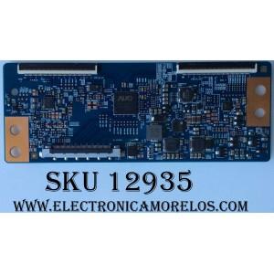 T-CON / LG 55.55T16.C07 / T550HVN08.1 CTRL BD / MODELO 55LF6300-UA BUSDLJR