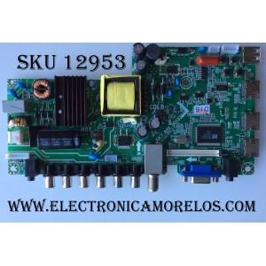 MAIN / FUENTE (COMBO) / HITACHI 918J4W / JUC7.820.00103445 / HLS43C