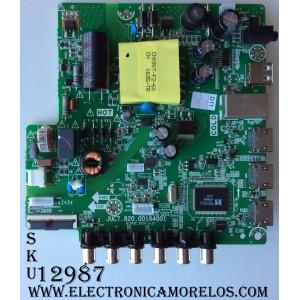 MAIN / FUENTE / (COMBO) HISENSE 998X6H / JUC7.820.00164001 / HLS43C / MODELO 40A3