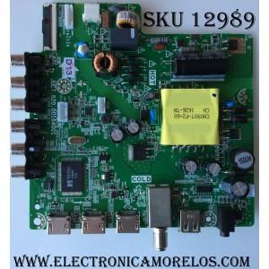 MAIN / FUENTE (COMBO) / HITACHI 999V6H / JUC7.820.00164001 / HLS43C / 999V6H / MODELO 40A3