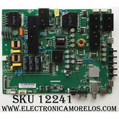MAIN / FUENTE (COMBO) / VIZIO 05.410.008.044 / 054100080441A  / TP.MS3553.PC761 / PANEL LSC550HN02-G01 / MODELO D55N-E2 LWZQVPBS