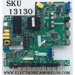 MAIN / FUENTE (COMBO) / SCEPTRE 50043393B01050 / TP.MS3393.P712 / TP.MS3393.P712B / E214887 / PANEL V400HJ6-PE1 / MODELOS X405BV-FMQC / X40