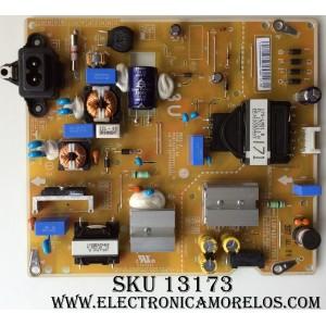 FUENTE DE PODER / LG EAY64529501 / EAX67209001 (1.5) / 64529501 / LGP43DJ-17U1 / PANEL`S NC430DGG-AAFX3 / LC430DGJ (SK)(A4) / MODELO 43UJ6300-UA BUSYLJM