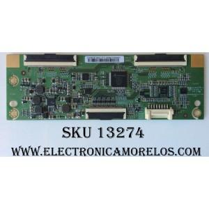 T-CON / SAMSUNG HV480FHB-N4044 / HV480FHB-N40 / B088004AA1677-02 / MODELO UN48J520DAFXZA ED04 / PANEL CY-JJ048BGEV4H
